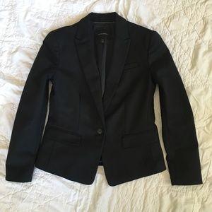Banana Republic Black Notch Collar Blazer Sz 4P